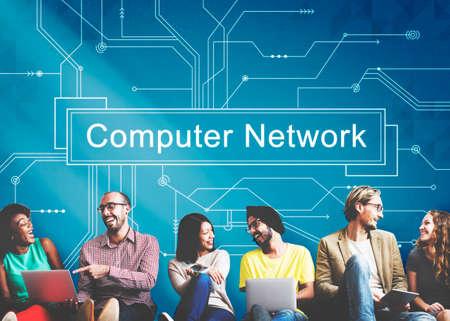 ethernet: Computer Network Connection Server Ethernet Concept
