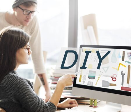 do it yourself: Do It Yourself Project Graphics Concept