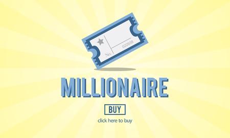millionaire: Millionaire Luxury Achievement Business Prize Concept