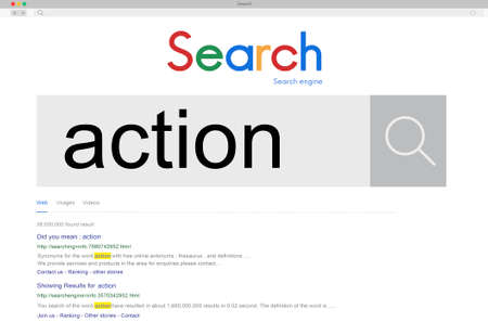 response: Action Movement Response Activity Concept Stock Photo