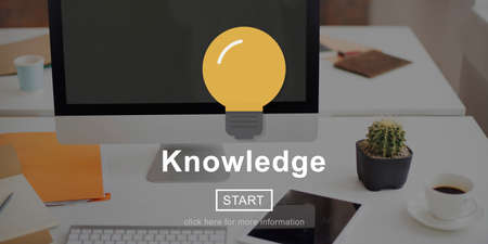 an understanding: Knowledge Ideas Understanding Insight Learning Concept Stock Photo