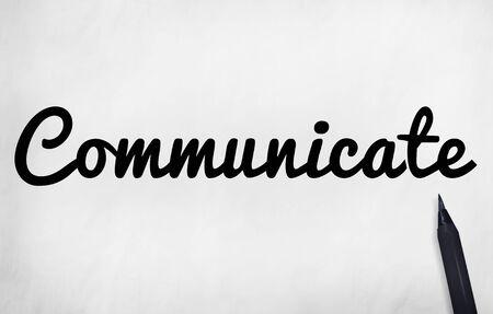 comunicar: Comunicar concepto conversaci�n Comunicaci�n Conectar