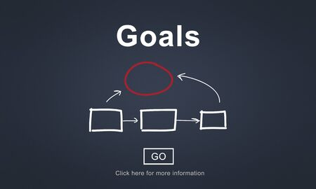 goal oriented: Goals Aim Aspiration Believe Dreams Expectations Concept