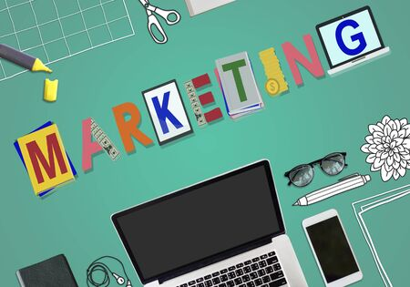 availability: Marketing Strategy Business Commerce Solution Concept