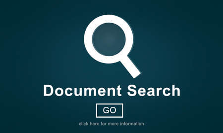 optimisation: Document Search Finding Forms Inspect Letters Concept