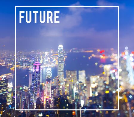 Future Development City Urban Futuristic Cocnept