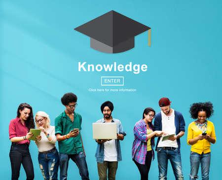 perceptive: Knowledge Learning Insight Education Wisdom Concept
