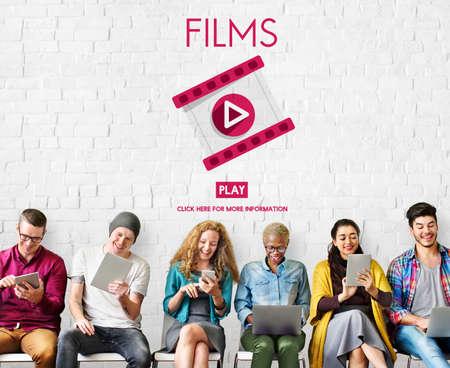 cinematography: Films Multimedia Entertainment Cinematography Concept