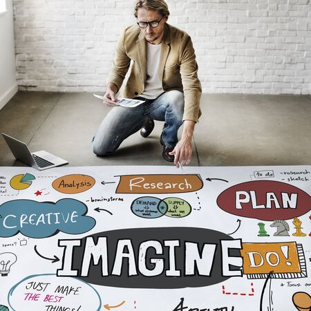 expect: Imagine Imagination Expect Creative Sketch Concept