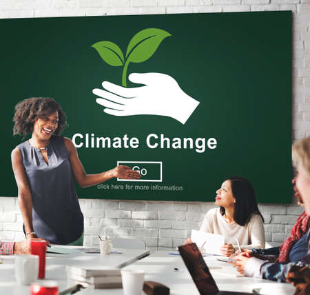 warming: Climate Change Environmental Global Warming Concept Stock Photo
