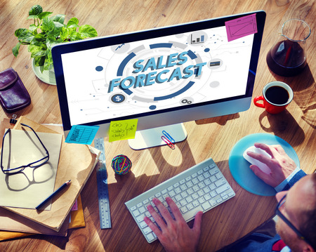 analyst: Sales Forecast FInance Analyst Competition Concept