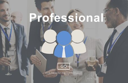 reputable: Professional Skill Development Expert Leading Concept