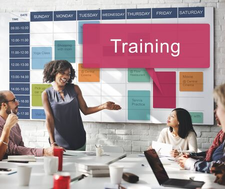 skills diversity: Training Train Coaching Ability Inspire Ideas Concept