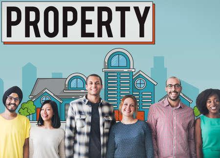 estate: Property Housing Estate Ownership Concept Stock Photo