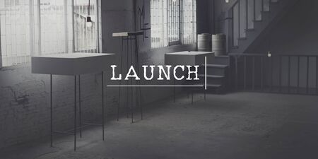 initiate: Launch Launching Introduce Inaugurate Start Concept