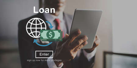borrow: Loan Banking Capital Debt Economy Money Borrow Concept