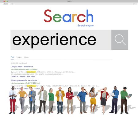 observation: Experience Expertise Knowledge Observation Skills Concept Stock Photo