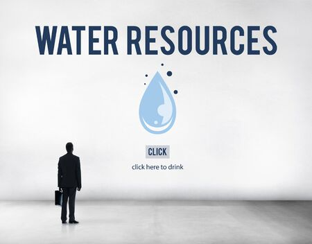 water resources: Water Resources Forest Trees Plant Natural Dam Concept