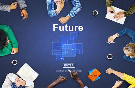 Zukunftstechnologie Internet Online-Konzept