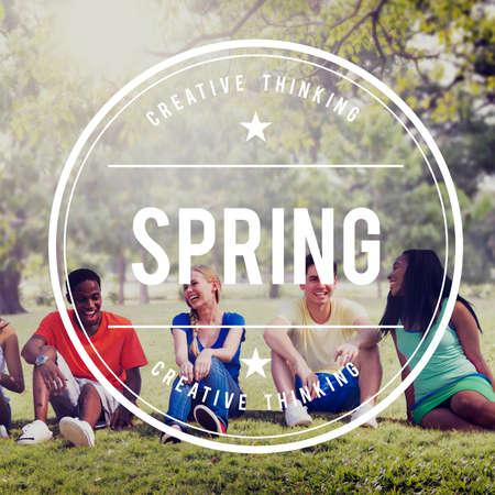 seasonal: Spring Seasonal Vacation Relaxation Concept