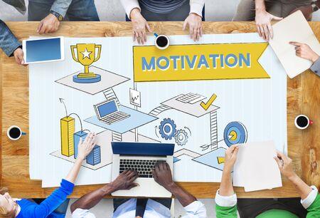 aspiration: Motivation Aspiration Expectations Inspire Concept