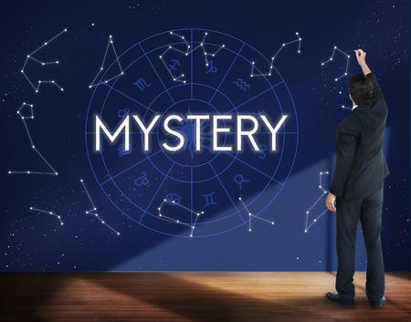 observable: Mystery Planets Horoscpoe Astrology Concept
