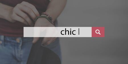 chic: Chic Trendy Stylish Female Beauty Concept
