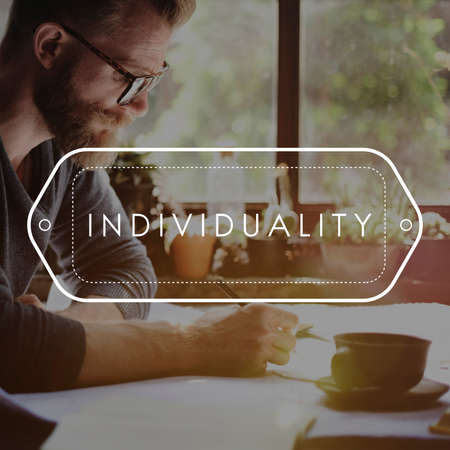 individuality: Individuality Character Personality Identity Concept
