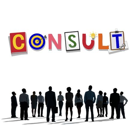 advise: Consult Advise Suggestion Support Consultant Concept