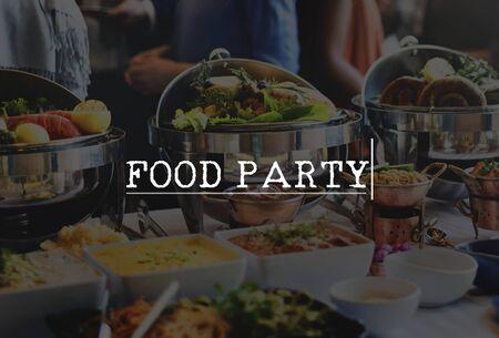 cuisine entertainment: Food Party Celebrate Entertainment Event Festival Concept