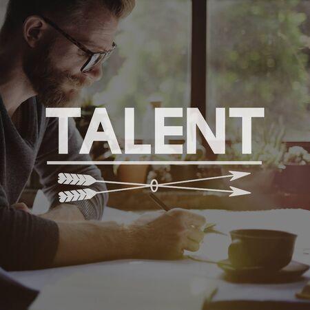 techniek: Talent Skills Beroep Techniek Expertise Concept Stockfoto