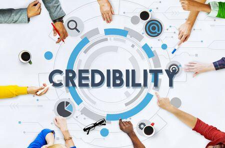 credibility: Credibility Trustworthy Integrity Likelihood Dependability Concept