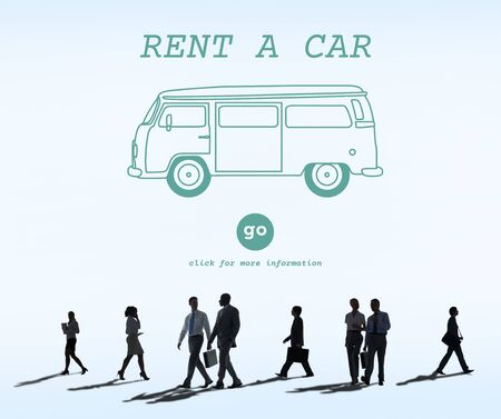 Renting: Rent Car Borrow Available Lease Renting Rental Concept