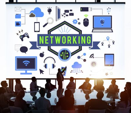diversity domain: Networking Connection Domain System Computer Concept