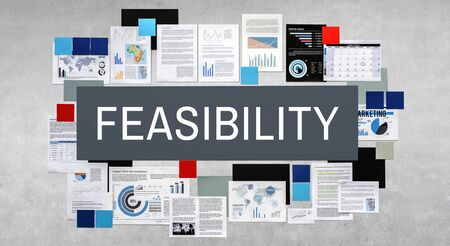feasibility: Feasibility Feasible Possibility Potential Useful Concept Stock Photo