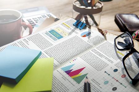 Articolo Business Information Vision Concetto