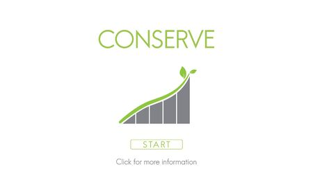 wildlife conservation: Conserve Ecology Environmental Preservation Concept