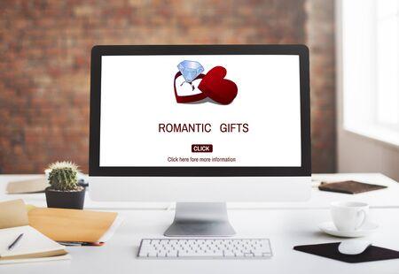 marry me: Romantic Gifts Romance Marry me Proposal Concept