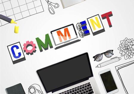 observation: Comment Social Media Social Networking Observation Concept