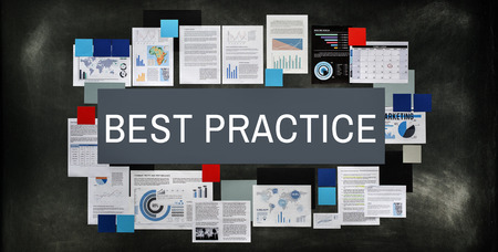 example: Best Practice Example Execution Lesson Operation Concept Stock Photo