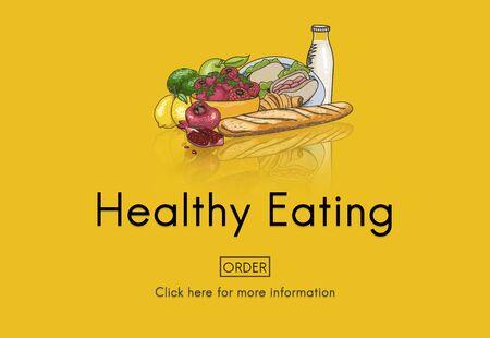 tasteful: Healthy Eating Food Fresh Natural Organic Concept