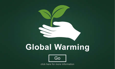 calentamiento global: Global Warming Climate Change Environmental Website Concept