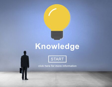 people looking up: Knowledge Expertise Intelligence Learn Concept