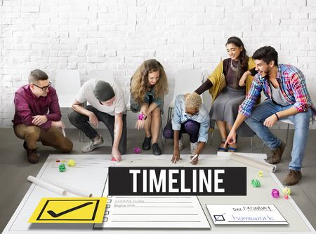 team management: To Do List Time Management Reminder Prioritize Concept Stock Photo