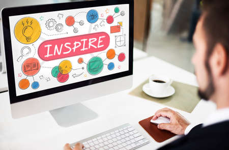 Inspire Aspiration Expectation Goal Hopeful Concept