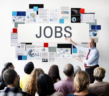 employing: Jobs Careers Employing Hiring Heman Resources Concept