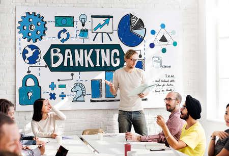 fund: Banking Finance Business Management Fund Financial Concept