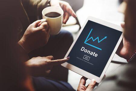 donacion de organos: Donate Ayuda Dar ayuda de ofrecimiento caridad concepto de Voluntarios