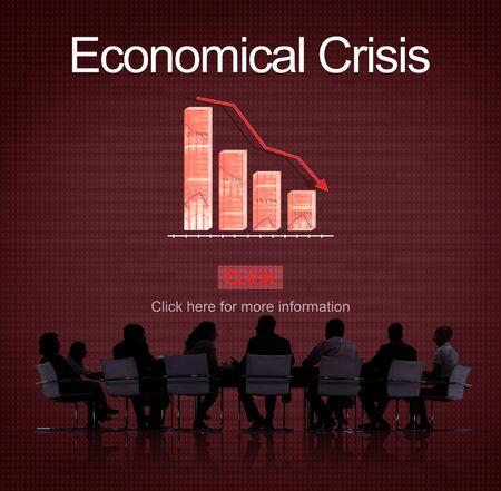 Economical Crisis Budget Community Financial Concept Stock Photo