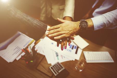 Business unity concept